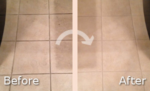 Before and After Kitchen Cleaning
